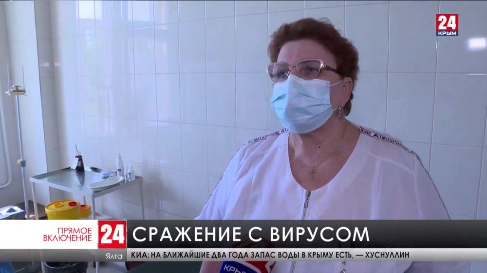За сутки в Крыму 383 новых случая «Ковид-19»
