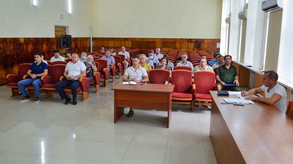 Алексей Михайловский провел заседание комиссии по КЧС и ОПБ