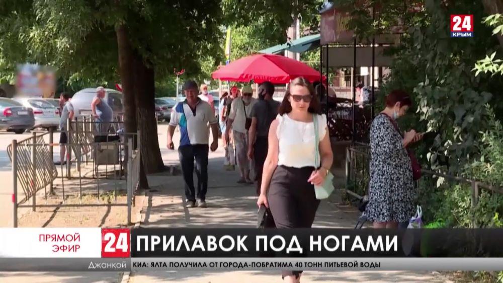 Как на севере Крыма борются с нелегальными торговцами?