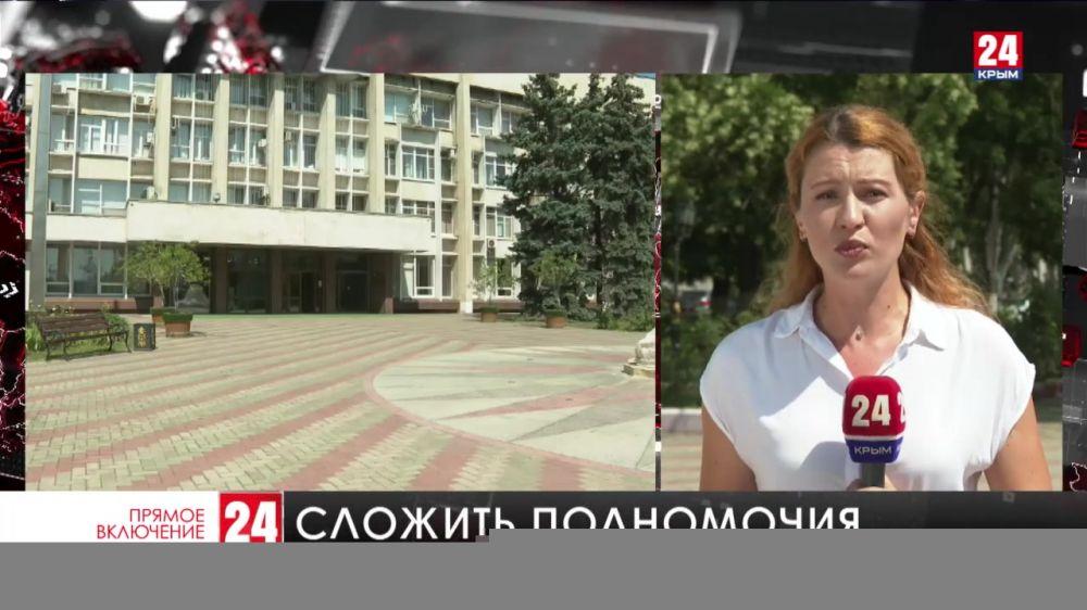 В Керчи депутаты городского совета приняли отставку главы администрации