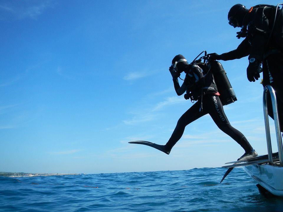 Дайвер утонул в Керченском проливе