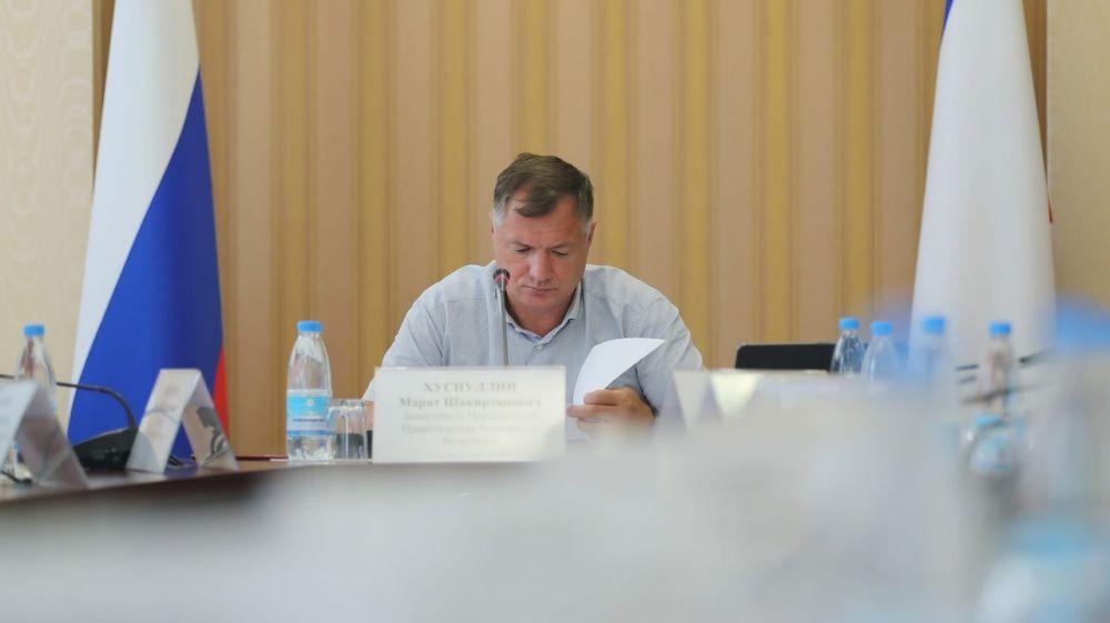 Михаил Храмов принял участие в совещании во главе с Маратом Хуснуллиным