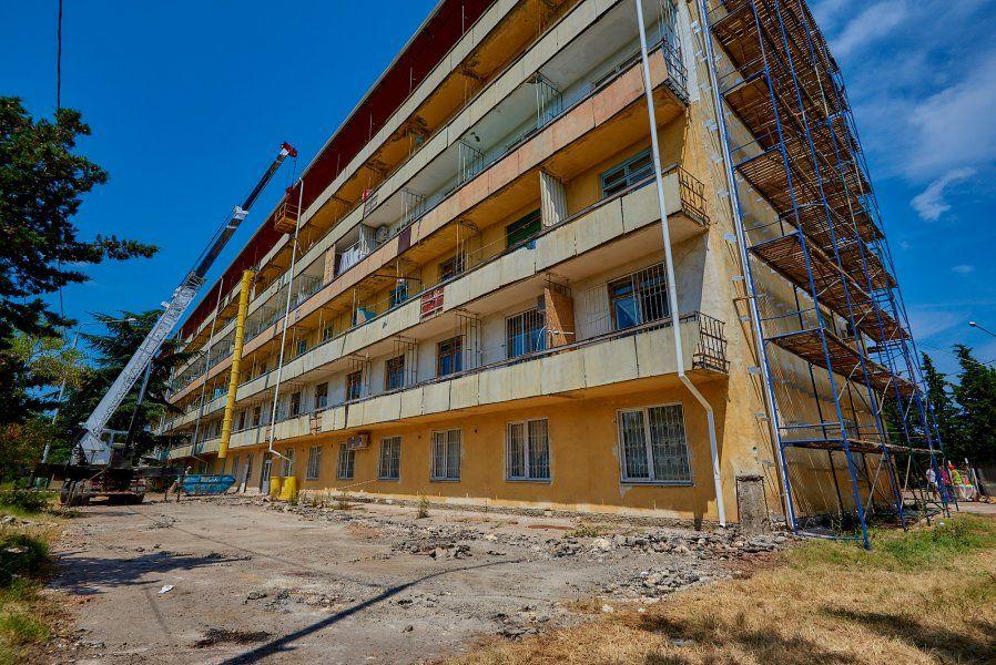 В Севастополе приступили к капитальному ремонту противотуберкулёзного диспансера