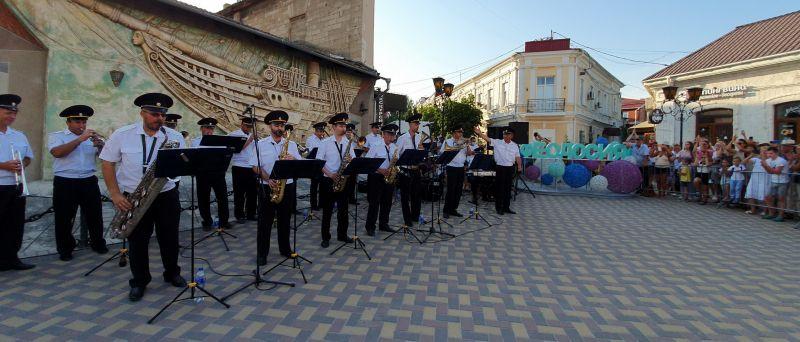 Оркестр культурного центра МВД по Республике Крым выступил с концертной программой в г. Феодосии