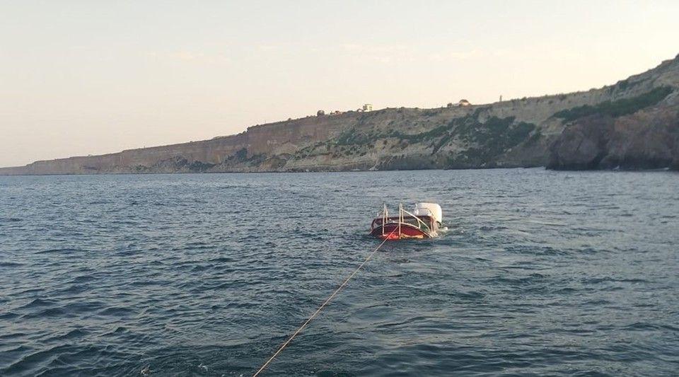 В Следкоме проводят проверку после опрокидывания катера под Севастополем