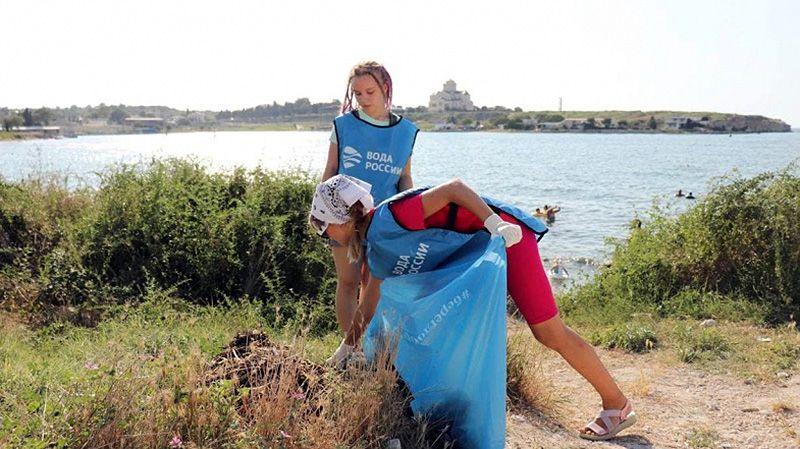 Севастопольские волонтеры стали победителями акции «Вода России»