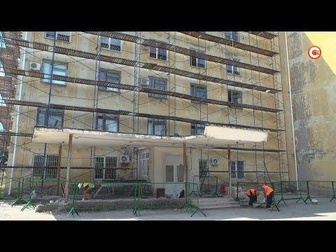 Первый этап капремонта Севастопольского противотуберкулёзного диспансера должны завершить в ноябре (СЮЖЕТ)