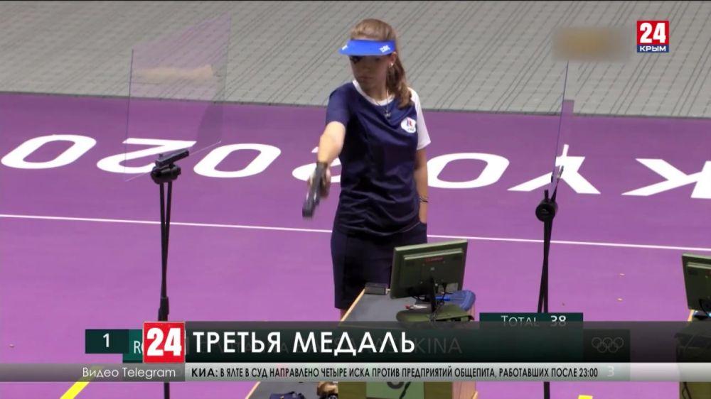 Виталина Бацарашкина завоевала очередную золотую медаль на Олимпийских играх
