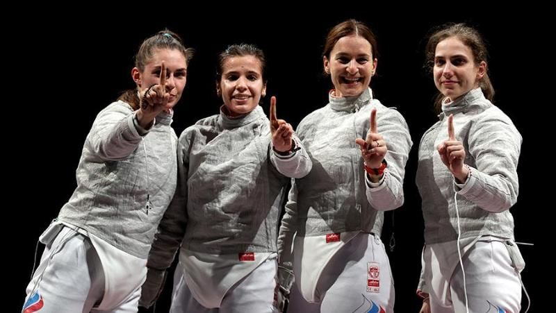 Россия досрочно выиграла медальный зачет Олимпиады по фехтованию
