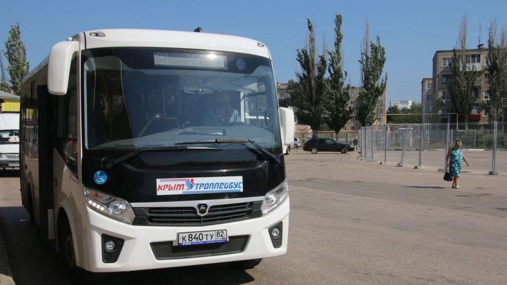 В Керчи проходят мероприятия по контролю за соблюдением масочного режима в общественном транспорте