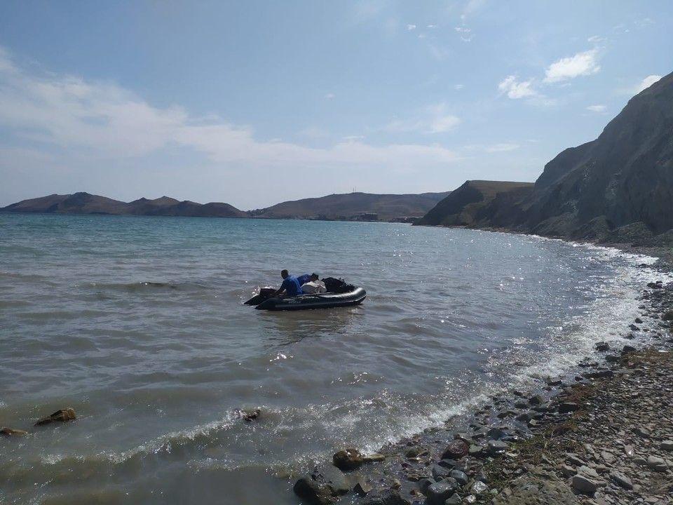 У берегов Феодосии нашли 5 неразорвавшихся авиабомб