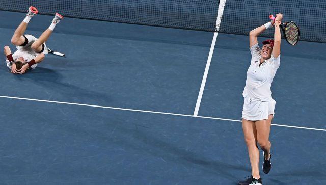 Россия взяла золото в теннисе и серебро в фехтовании на ОИ в Токио