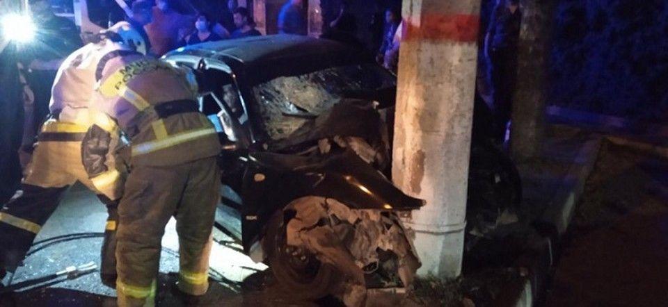В результате ДТП в центре Симферополя погибли два человека
