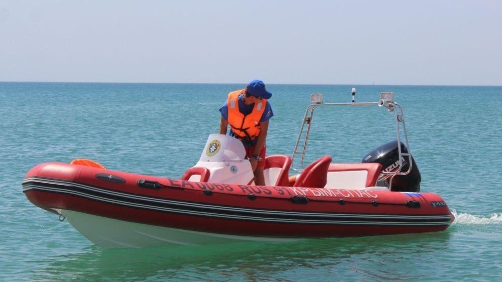 Сотрудники ГКУ РК «КРЫМ-СПАС» осуществляют патрулирование на воде