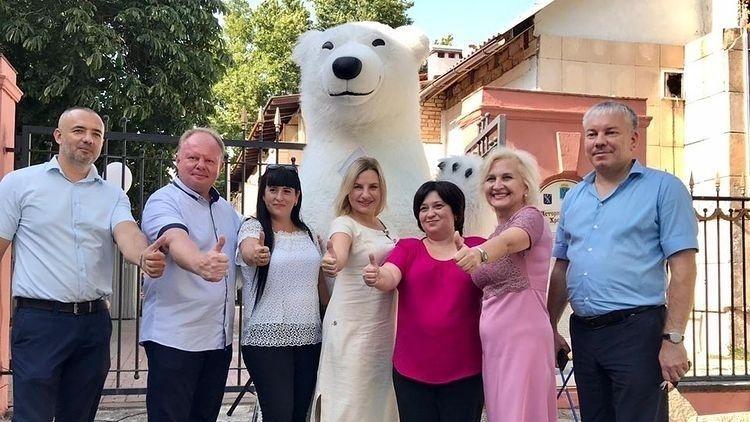 Ольга Торубарова посетила шахматный сеанс одновременной игры
