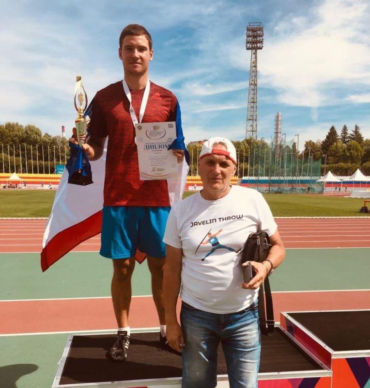 Крымские легкоатлеты выиграли две медали Спартакиады России