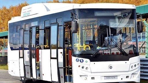 На пригородный маршрут «Дружное- Симферополь» вышли новые автобусы