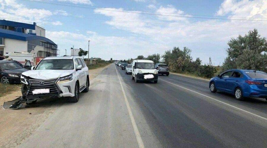 МВД возбудило уголовное дело в отношении предполагаемого виновника ДТП в Сакском районе