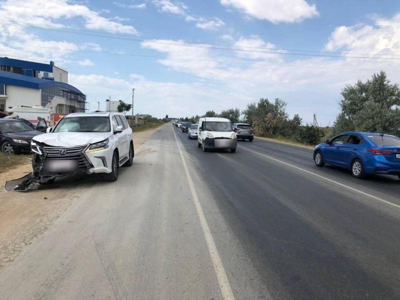 В Крыму расследуется уголовное дело по факту ДТП в Сакском районе