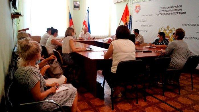 Владимир Трегуб провел аппаратное совещание по социально значимым вопросам Советского района