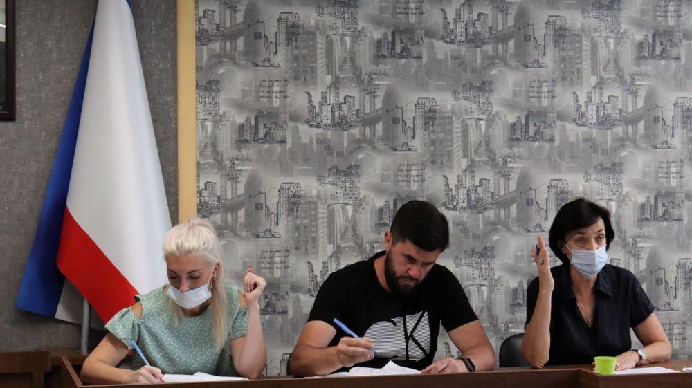 Состоялась очередная 37 сессия Сакского городского совета