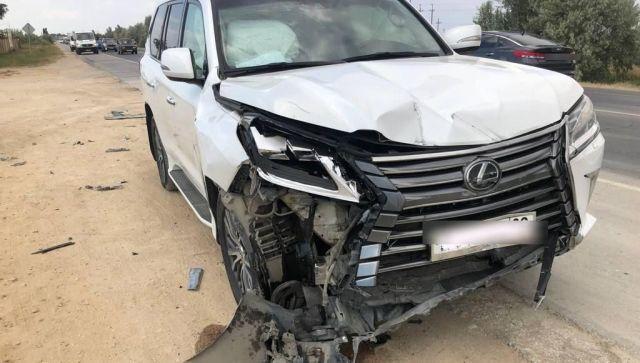 В МВД рассказали подробности ДТП с участием Lexus Сергея Бейма