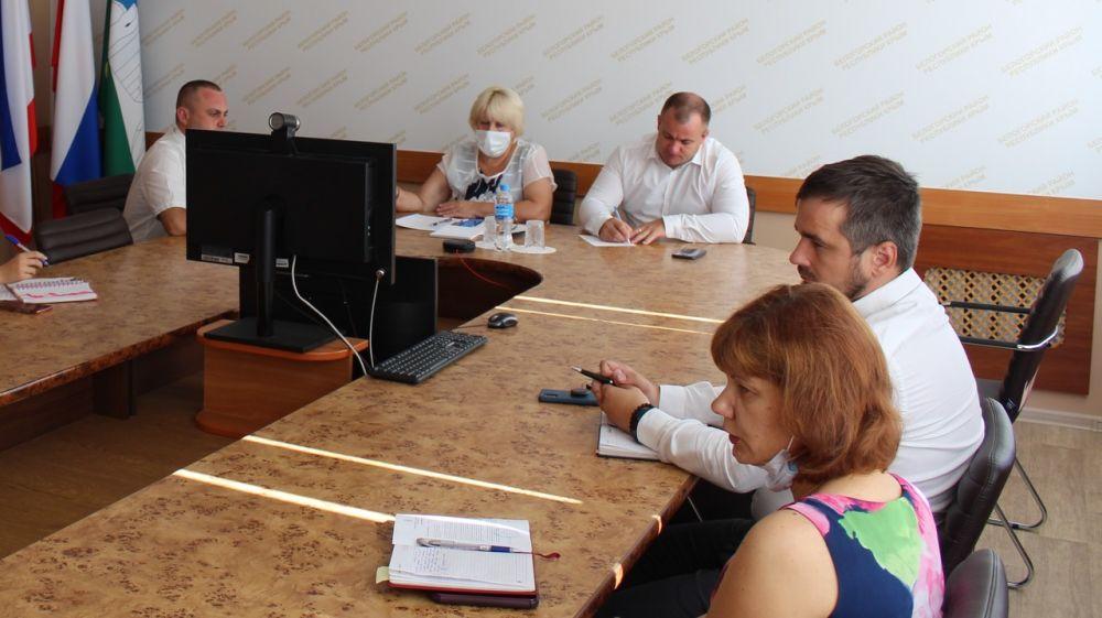 Глава администрации Белогорского района Галина Перелович провела аппаратное совещание