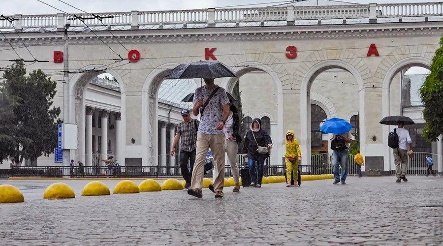 Кратковременные дожди пройдут в Крыму