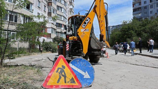 Более 20 улиц отремонтируют в Симферополе до осени