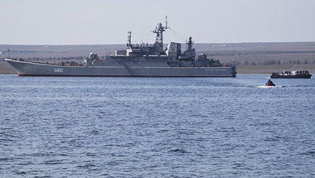 Украинский корабль в составе Черноморского флота назвали фейком