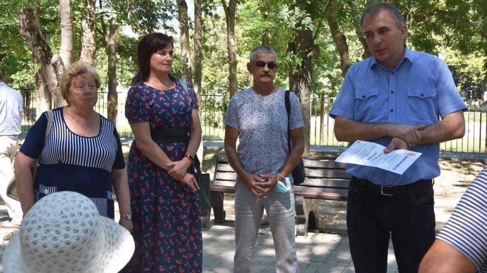 Депутаты провели очередную встречу с городским активом Совета ветеранов