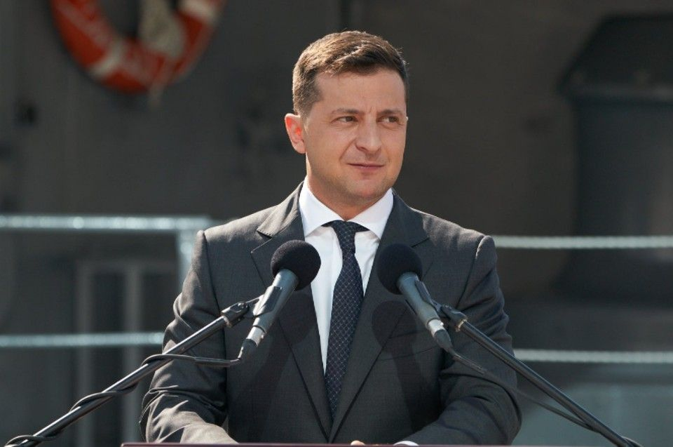 Владимир Зеленский убежден, что возвращение Крыма в состав Украины - вопрос времени