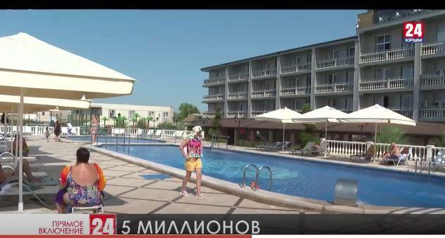 Пять миллионов туристов побывали в Крыму с начала года