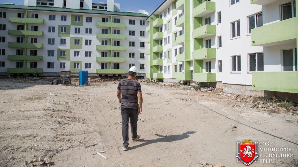 В п. Гвардейское более чем на 50 % готовы дома для переселения репатриантов