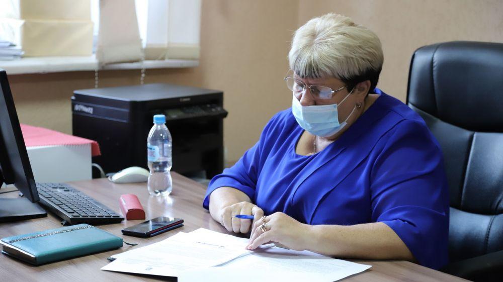 Глава администрации Бахчисарайского района Людмила Пучкова провела личный прием граждан