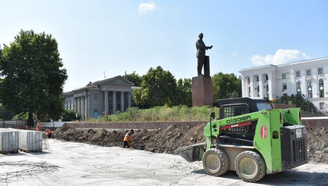 Когда Симферополь увидит обновленную площадь Ленина