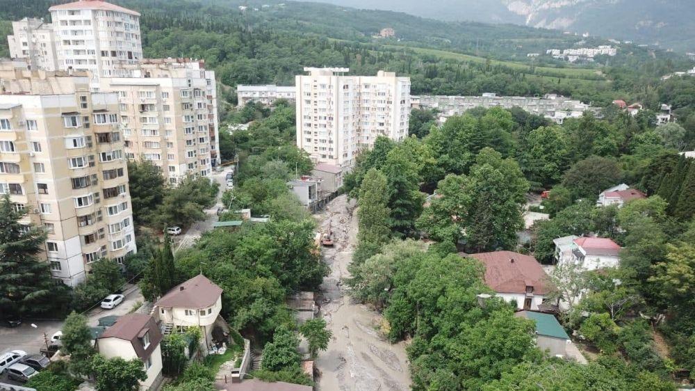Информационная сводка о подтоплении в ГО Керчь и ГО Ялта