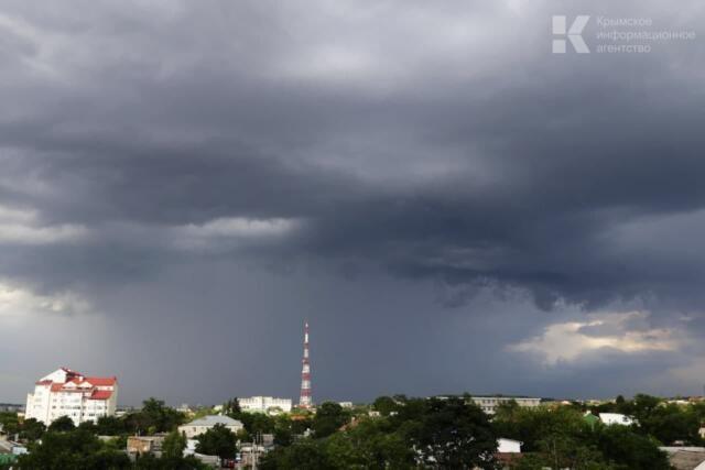 В ближайшие часы на Крым обрушатся ливни с грозами