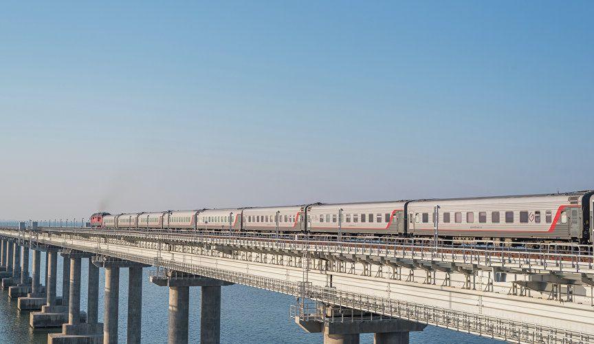 Семьи с детьми получили скидку на поездки на поездах «Таврия»