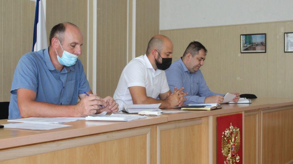 Состоялось заседание комиссии по безопасности дорожного движения на территории Симферопольского района