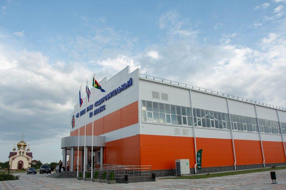 В Кировском районе открыли новый спорткомплекс площадью больше полутора тысяч метров