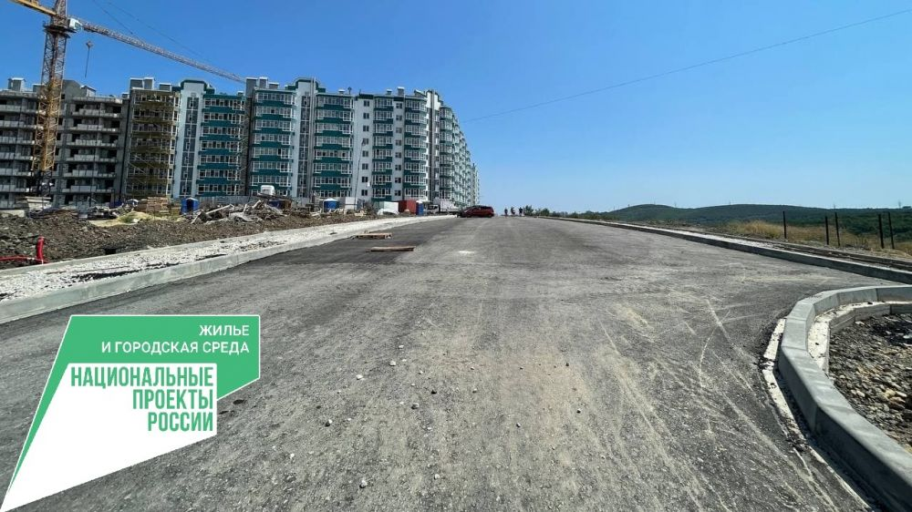 Ведутся работы по созданию подпорных сооружений подъездной дороги к ЖК «Семейный» в Алуште