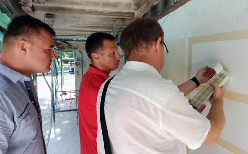 В Севастополе при капремонте домов будут проводить контрольные выкрасы фасадов