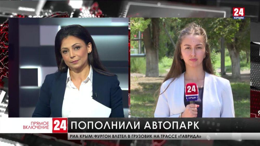 Два новых автомобиля получила Белогорская центральная районная больница