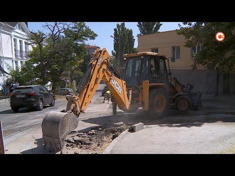 Ремонт автодороги на улице Годлевского должны завершить в следующем месяце (СЮЖЕТ)