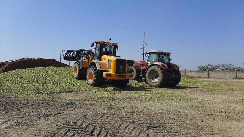 Андрей Рюмшин: Крымские аграрии заготовили более 156 тысяч тонн кормов для сельхозживотных