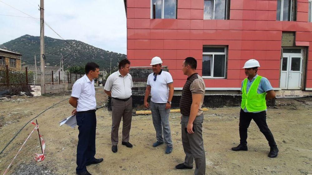 Айдер Типпа с рабочим визитом посетил городской округ Судак