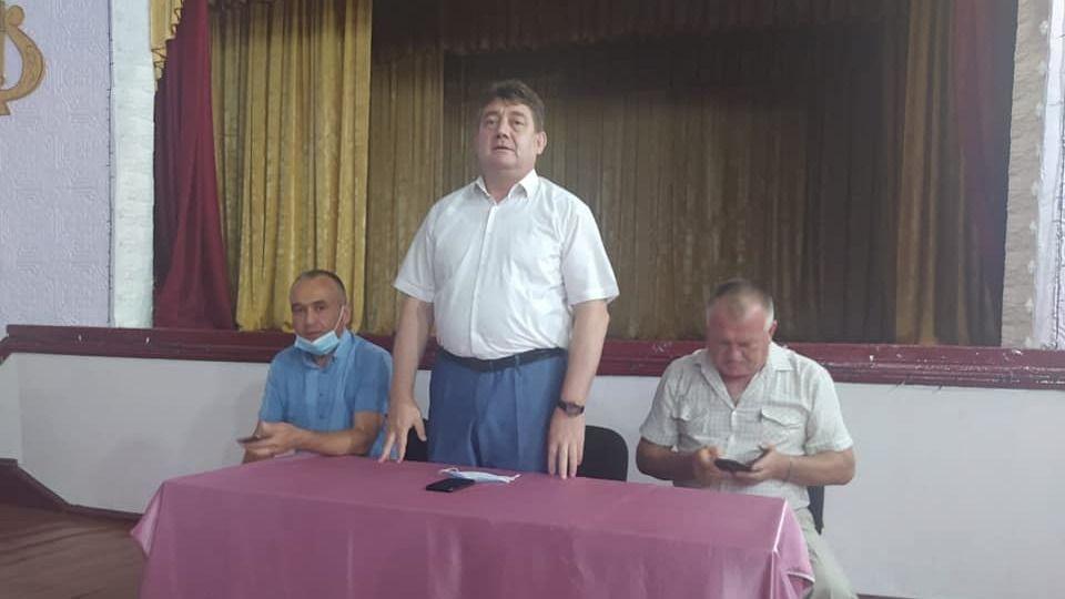 Айдер Типпа провел встречу с общественностью п. Зуя и п. Новожиловка Белогорского района