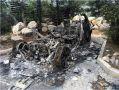 Под Севастополем сожгли Rolls-Royсе стоимостью 400 тысяч долларов