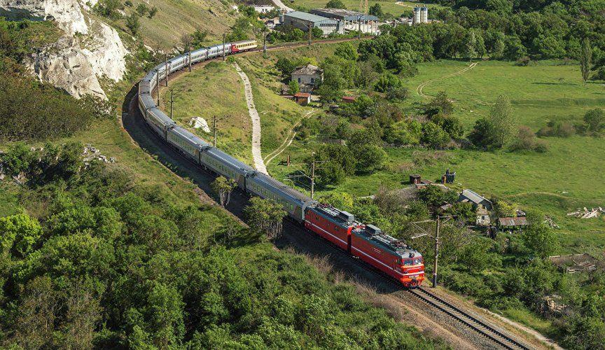 Симферополь – в тройке популярных осенних путешествий на поезде